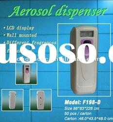 Automatic air freshener dispenser with LCD display