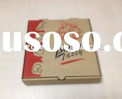 Brown Paper Pizza Box for Food Packaging