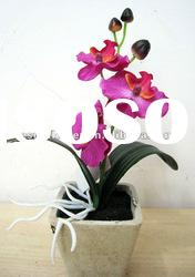 Butterfly orchid bonsai artificial flower
