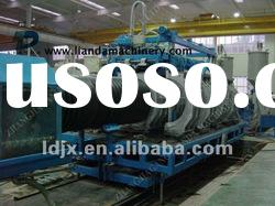 CE High efficiency/ HDPE double-wall corrugated pipe production line