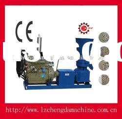 CE biomass pelleting mill for feed and fuel
