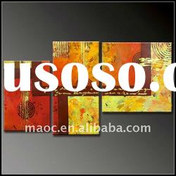 Canvas group modern abstract painting