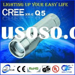 Cheap Zoom LED Flashlight Torch CS-9265