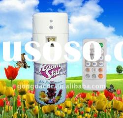 China Latest aerosol dispenser & Air freshener dispenser with LED