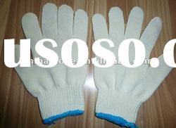 China knitted cotton gloves