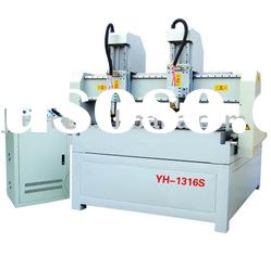 Chixing Two-head Wood Engraving CNC Router Machine YH-1316S