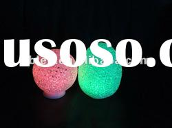 Color changing crystal ball LED tealight for party, christmas, festival