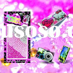 Crystal Mobile phone sticker