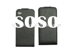Custom Cell Phone Leather Case for iPhone 4G