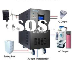 DC to AC industrial inverter with charger and UPS I-P-XDC-8000VA(6000W)