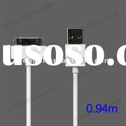 Dock Connector to USB Cable for iPad / iPhone / iPod (High Quality), Length: 94cm