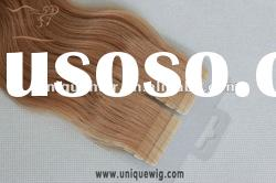 Double sided strip hair extensions