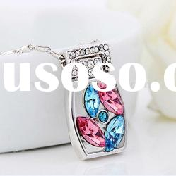 Dream rubik's cube Austrian swaroskies crystal necklace