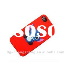 Durable and Beautiful silicon phone case for iphone4/iphone4s