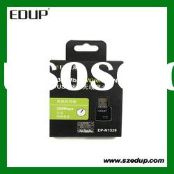 EDUP EP-1528 300Mbps Mini WIFI USB Wireless Adapter Network Card Tiny Size wireless rj45 adapter