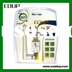 EDUP EP-MS150NW USB WiFi Wireless LAN Network 802.11n 150M Card Adapter with 2dbi Antenna