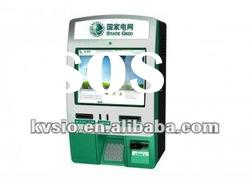 Electricity, Water, Gas Bill Payment Wall Mounted Kiosk / Kiosks For Coin Hopper