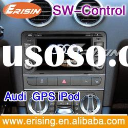 Erisin Double Dash Din Audi A3 Sat Nav DVD Player Bluetooth iPod SWC In Car Multimedia RDS