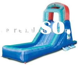 Exciting and funny inflatable water slide for sale