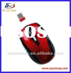 Factory Directly Selling 6 Scroll Wheels 2.4G Wireless Optical Mouse