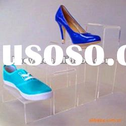 Fashionable Clear Acrylic Shoes Display Stand