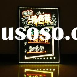 Fluorescent effects Led message display board for 2012