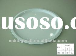 Food safety melamine round plastic serving tray