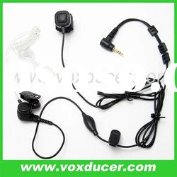 For Motorola two way radio T270 T5920 covert acoustic tube earpiece