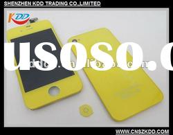 For iPhone 4G full Set Unit;LCD+Touch screen+Home button+Back cover