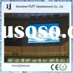 Full color P10 cinema advertising indoor led displays