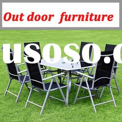 GARDEN FURNITURE C5011T T60140/ FOLDING CHAIR AND RECTANGULAR TABLE /HIGH QUALITY GARDEN FURNITURE
