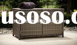 GH-ST-50, Wicker Rattan Storage Box, Rattan Outdoor Furniture