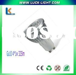 GU10 new design high power LED light led bulb led lamp,100-250v,dc12v,325lm with CE&ROHS