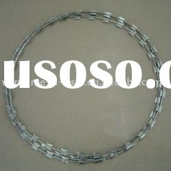 Galvanized Razor Barbed Wire(Sanxing wire mesh factory)