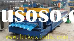 Galvanized Steel Glazed Tile Cold Roll Forming Machine Roll Former roof tile machinery manufacturers