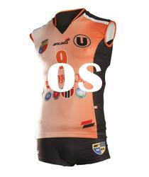 Girls sublimation volleyball uniform,volleyball wear