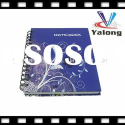 Good quality 1.8mm hard patch cover spiral notebook