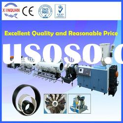 HDPE gas and water supply pipe extruder machine suppliers