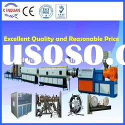HDPE gas and water supply pipe making machine