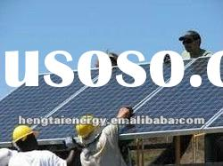 HT Solar system 1KW to 10 KW (high efficiency reliable price)