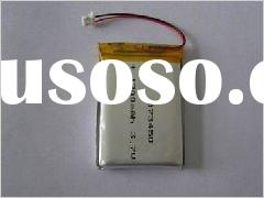 High capacity li polymer rechargeable battery 3 7v with 420mah for toy and telecom