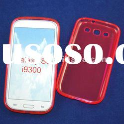 High quality TPU S-line case for samsung s3 i9300 waterproof skin