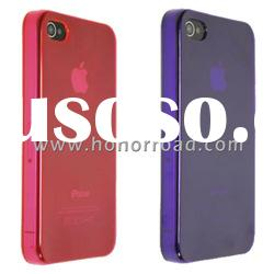 Hot Pink & Purple Ultra Thin Crystal Case Cover for the iPhone 4