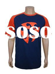 Hot Sell Men's T Shirt with printing OEM T-Shirt (OEKO-TEX,ISO9001,SGS Certification)