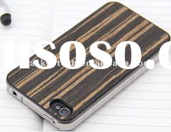 Hot Slide Pure wood case for iphone 4 Bamboo cover for iphone 4S