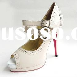 Hot sale brand fashion shoes for women 2012