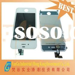 Hot sale for LCD digitizer Glass screen assembly for iphone 4g