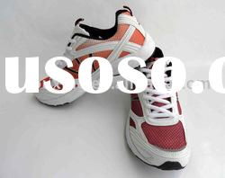 Hot sale new designed red running shoes for ladies