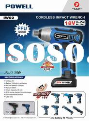 IW02 18V Cordless Impact wrench supper compact and powerful