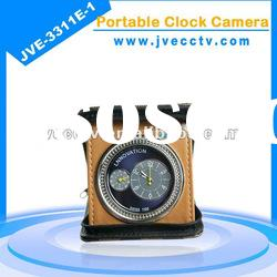JVE3311E-1 2GB-8GB security clock camera;alarm clock camera;mini clock camera